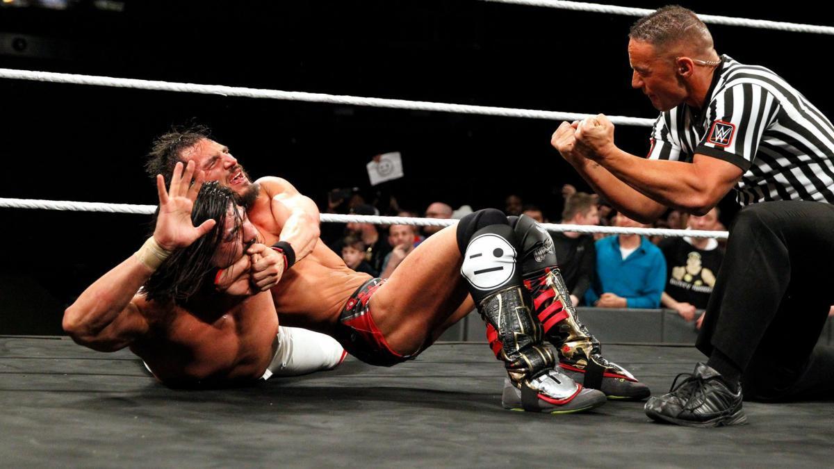 Johnny Gargano and Andrade