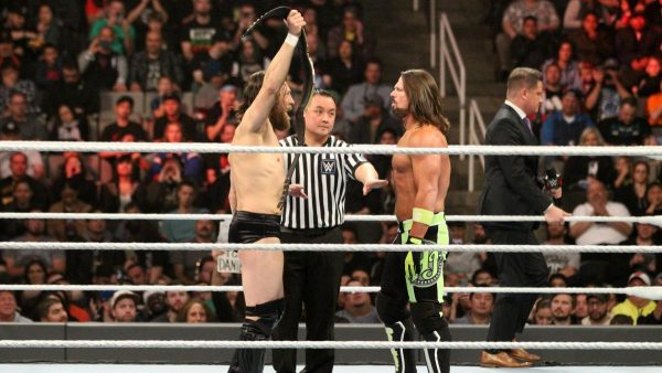 Bryan vs. Styles from WWE TLC 2018