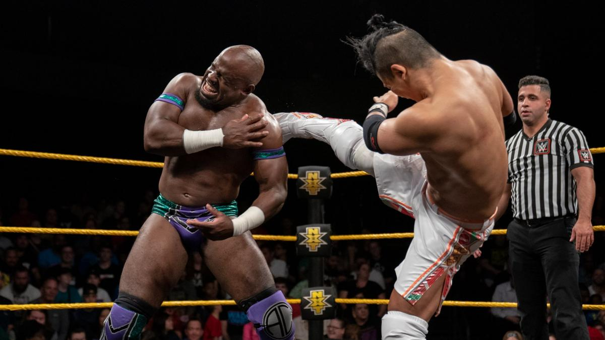 Apollo Crews NXT